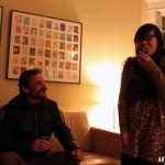 Eduardo Oramas & Vicky ***** eat pop rocks at John Snow House.