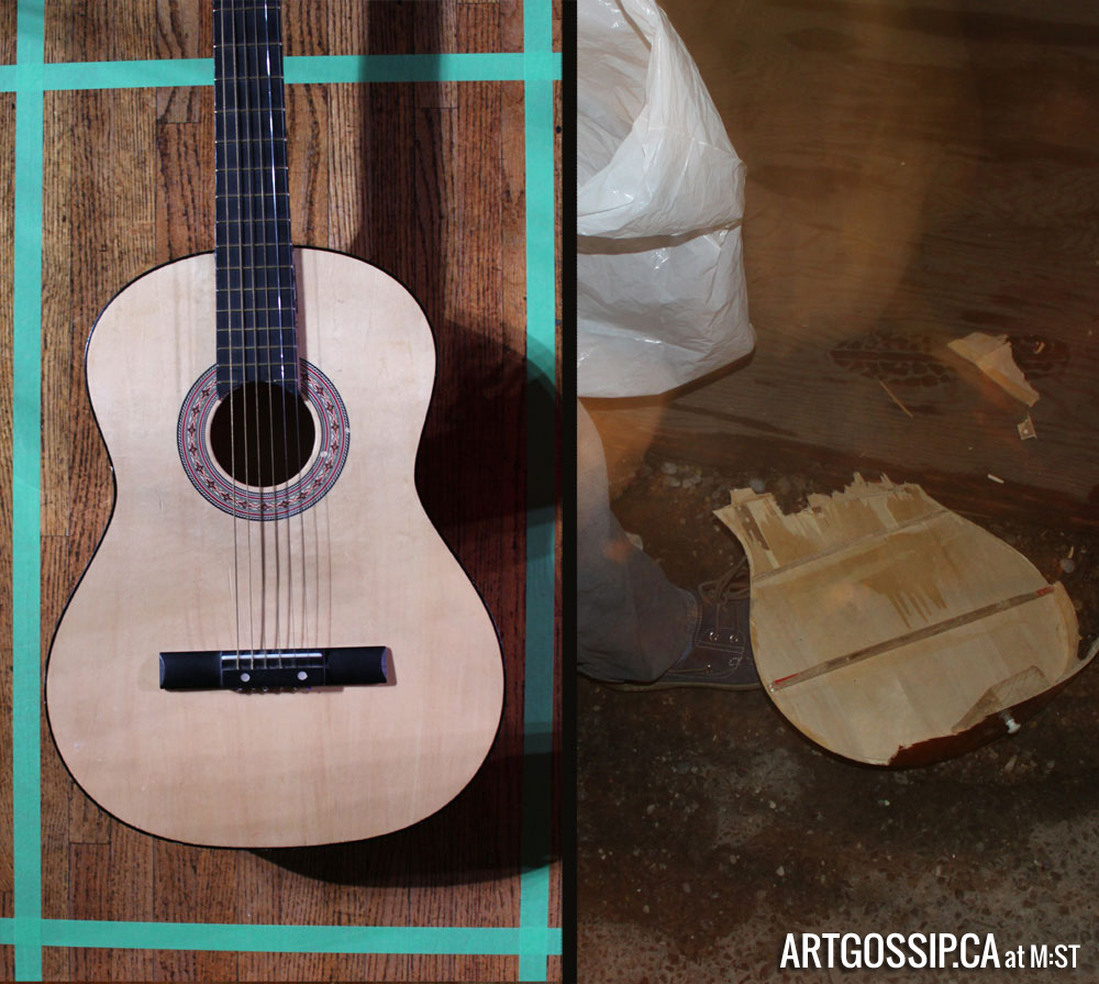 Guitar, Before and During