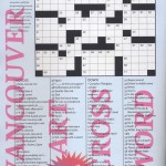 Vancouver Art Crossword