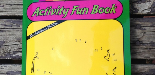 Super Fun Art Activity Book: Saskatchewan Edition